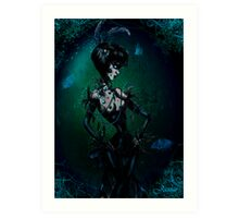 Midnight Miss Lagoon Art Print