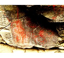 Picture Gorge's Mythical beast pictograph Photographic Print