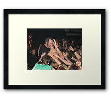 36 Crazyfists In The Crowd Framed Print