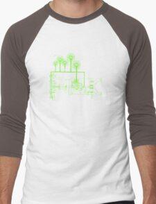 exchangeland Men's Baseball ¾ T-Shirt