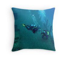 Wreck Explorer Throw Pillow