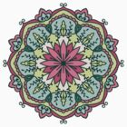 Mandala - Circle Ethnic Ornament by magicmandala