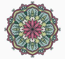 Mandala - Circle Ethnic Ornament Kids Clothes