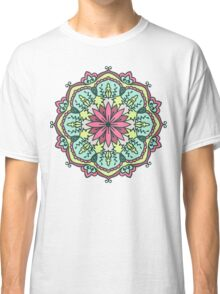 Mandala - Circle Ethnic Ornament Classic T-Shirt