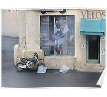 What Bike Through Yonder Window Breaks.... Poster