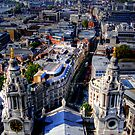 View of London from St Pauls Cathedral by kojobar