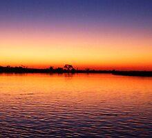 Nightfall on the Zambezi by Braedene