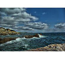 Sea at Mevagissey Photographic Print