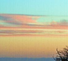 Prairie Pastel Sky Sticker