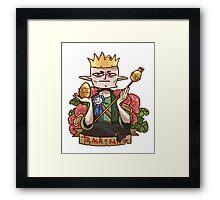 Solas - King of Trash Framed Print