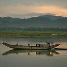 Riverboat, Vietnam by Peter Gostelow