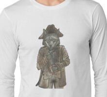 Pirate Wolf Long Sleeve T-Shirt