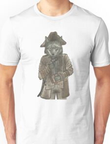 Pirate Wolf Unisex T-Shirt