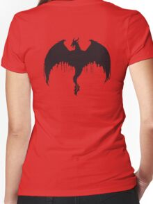 Age of Dragon Women's Fitted V-Neck T-Shirt