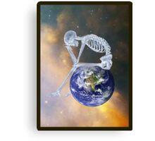 GLOBAL WARMING DIGITAL ART Canvas Print