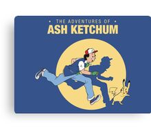 The Adventure of Ash Ketchum Canvas Print