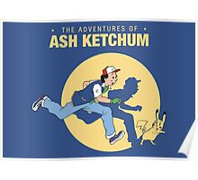 The Adventure of Ash Ketchum Poster