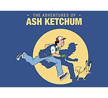 The Adventure of Ash Ketchum Photographic Print