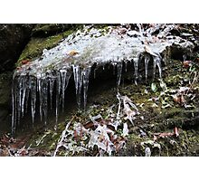 Icicle 1 Photographic Print