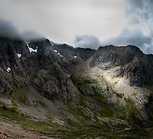 Ben Nevis North Face by Joe Dailly