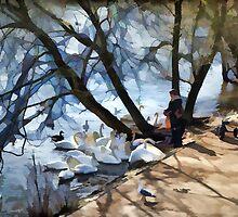 Feed The Birds................. by lynn carter