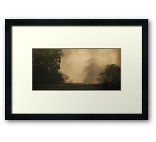 A Sense Of Mystery Framed Print