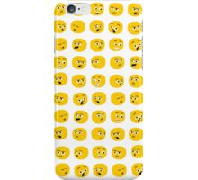 Yellow Expressions iPhone Case/Skin