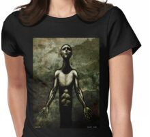 Prayer Womens Fitted T-Shirt