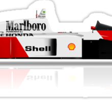 Ayrton Senna - McLaren MP4/4 Sticker