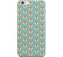 Shiba Love - Heart shiba inu funny dog for dog lovers pet gifts customizable dog meme dog person iPhone Case/Skin