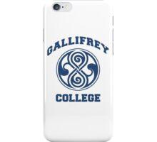 Gallifrey College iPhone Case/Skin
