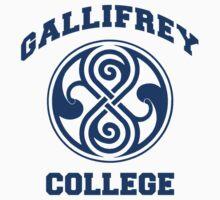 Gallifrey College Kids Clothes