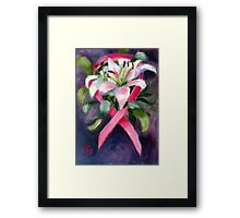 CARING ACEO Framed Print