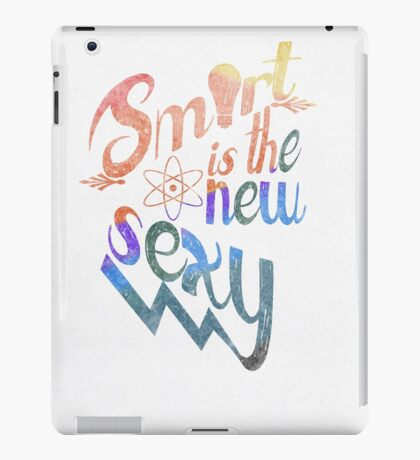 Smart is the New Sexy iPad Case/Skin