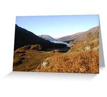 Through the Glen Greeting Card