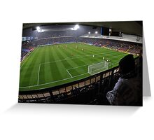 Fisheye View of the Crystal Palace Stadium Greeting Card