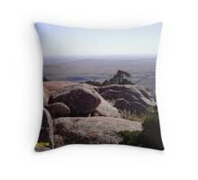 mount scott at the top Throw Pillow