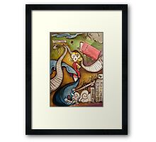 Eleanor Put Your Boots On Framed Print