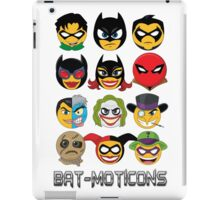 Bat-Moticons iPad Case/Skin