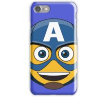 Captain A-Moticon iPhone Case/Skin