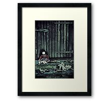 forgotten doll Framed Print