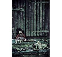 forgotten doll Photographic Print