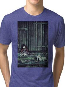 forgotten doll Tri-blend T-Shirt