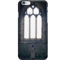 girl in church iPhone Case/Skin
