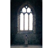 girl in church Photographic Print