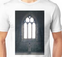 girl in church Unisex T-Shirt