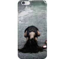 cowering iPhone Case/Skin
