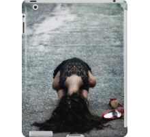 cowering iPad Case/Skin
