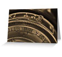 AGFA ISOLETTE II -- II Greeting Card