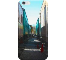Between Trains iPhone Case/Skin